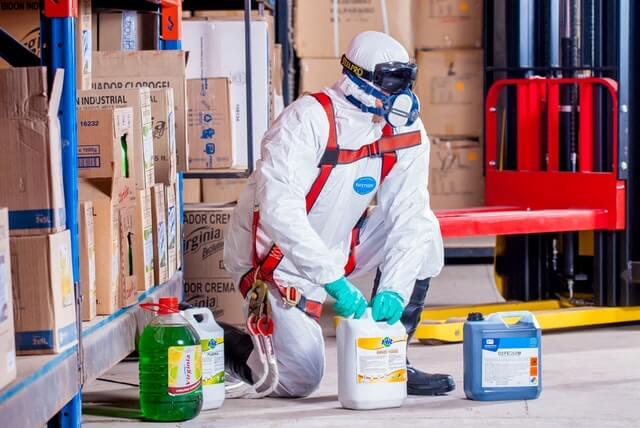 Ausbildung und betriebliche Weiterbildung in den Bereichen der Arbeitssicherheit und des Brandschutzes