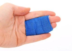 Verbunde Finger, bei einem Arbeitsunfall gilt gesetzlicher Unfallversicherungsschutz