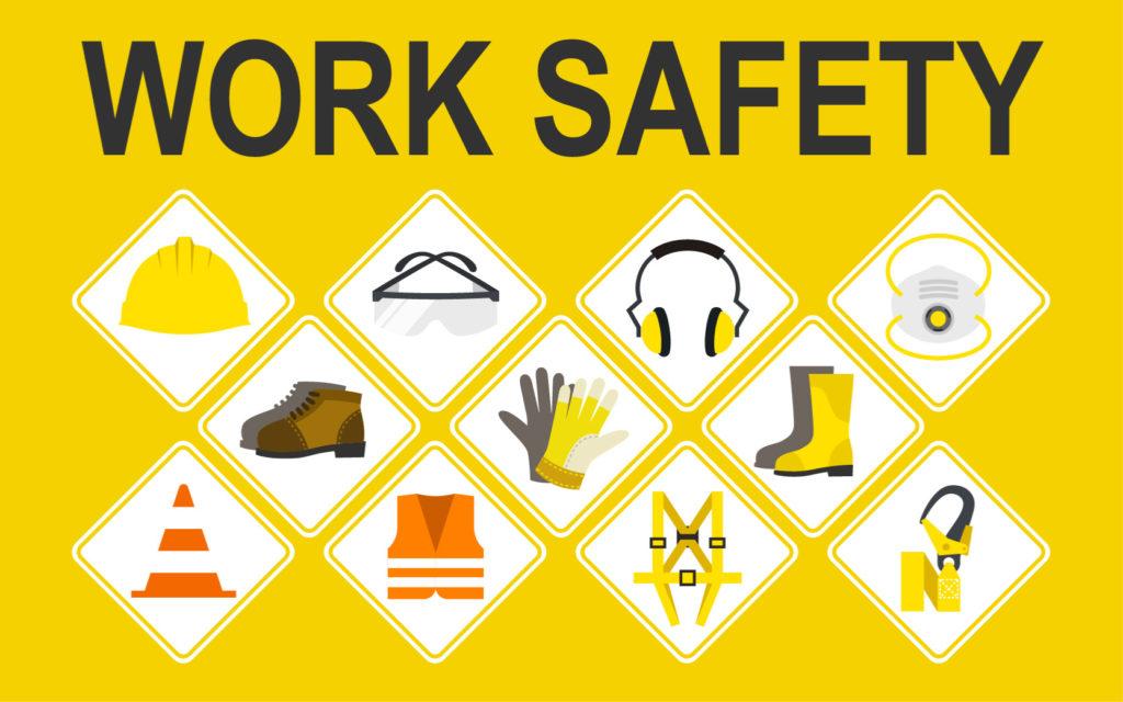 Arbeitssicherheit Persönliche Schutzausrüstung PSA