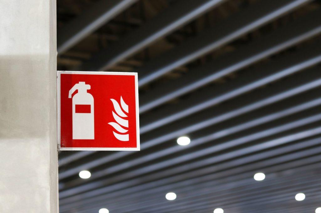 Arbeitsschutz Feuerlöschtraining